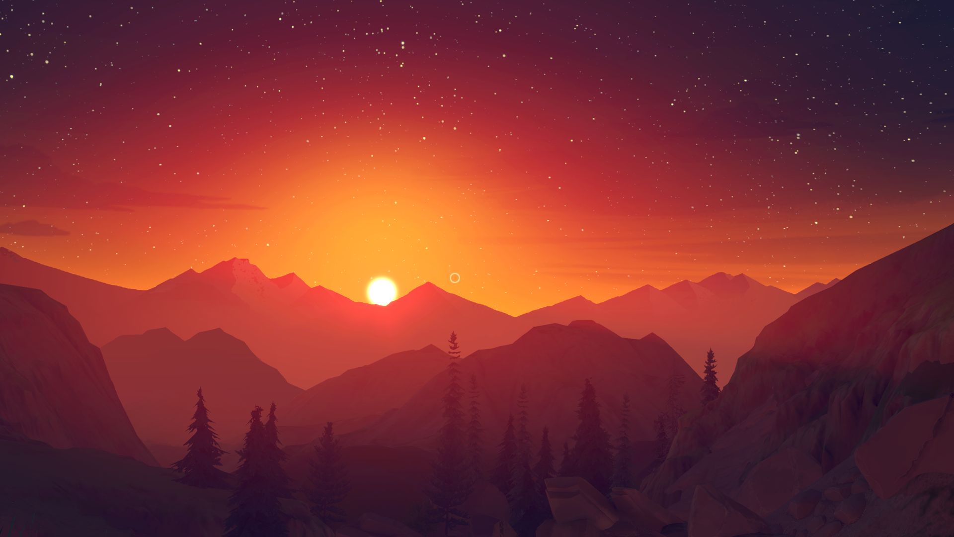 11 Stunning Desktop Wallpapers From The Firewatch Game
